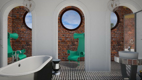 Chapel Bath - Eclectic - Bathroom - by 3rdfloor