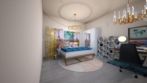 rustic bedroom - Rustic - Bedroom - by pigsfordays