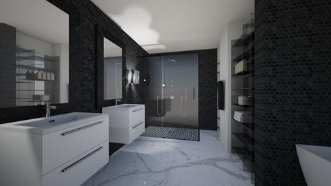 Bathroom - Glamour - Bathroom - by amerveillov