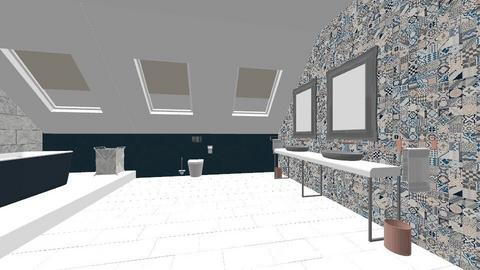 En suite - Bathroom - by LowsAngharad