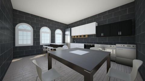 Kitchen Design 1 - Kitchen - by Victor7798