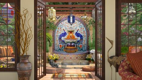 Design 292 The Fountain - Garden - by Daisy320