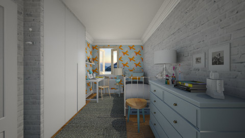 Blu - Kids room - by Maria Esteves de Oliveira