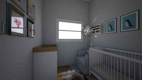 Robinson nursery - Kids room - by isabellaseaden