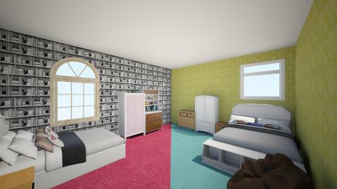 2 rooms in 1 - Modern - Bedroom - by saio9