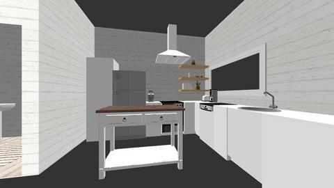 Tiny Home - Rustic - Living room - by mckennaalberstadt
