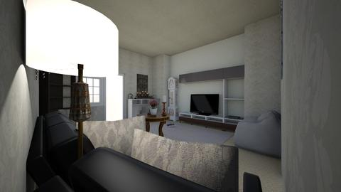family room - Glamour - Living room - by cupcake oncer
