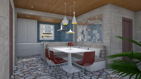 Dining Space Between - Modern - Dining room - by 3rdfloor