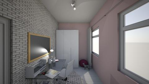 gabinet - Minimal - Office - by Julie_kol