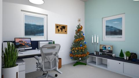 Christmas Office - Modern - Office - by Isaacarchitect