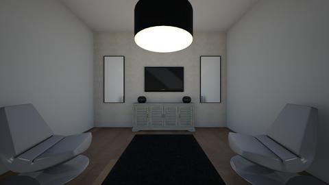 symmetry - Living room - by ssumartin