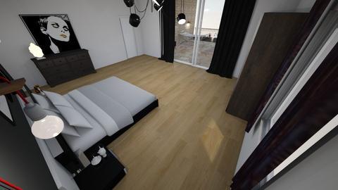 sebs bedroom - Modern - Bedroom - by AfroditeGoldie