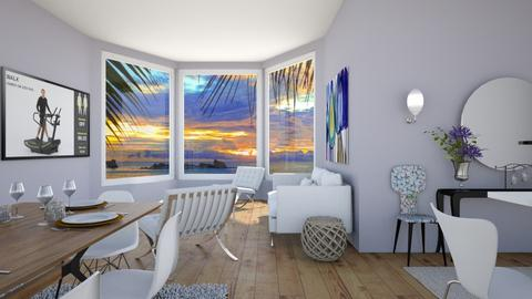 white 2 - Living room - by Gagany