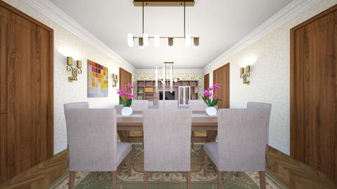dinning room  - Modern - Dining room - by Bianca Interior Design