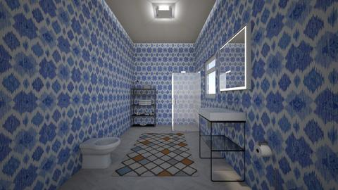 Monolocale_1 - Global - Bathroom - by Newt Forever GM