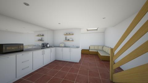 Open kitchen - Kitchen - by sarahbatty