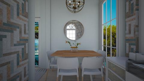 Casa210DiningArea - Minimal - Dining room - by nickynunes