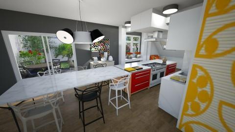 Carmel - Kitchen - by The quiet designer