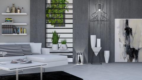 M_Art - Living room - by milyca8