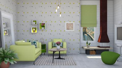 Birdy  - Modern - Living room - by augustmoon