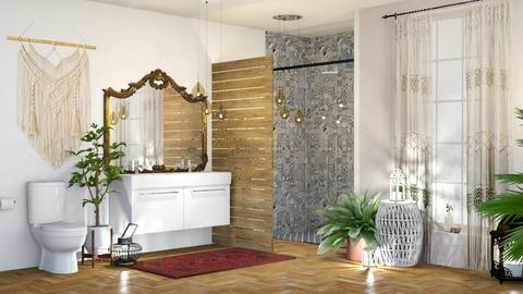 boho_bathroom - by boho_dreamer