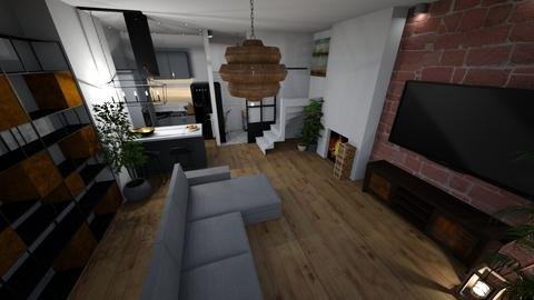 parter 2 - Living room - by Michalewicz