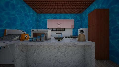 pool kitchen - Classic - Kitchen - by house4159