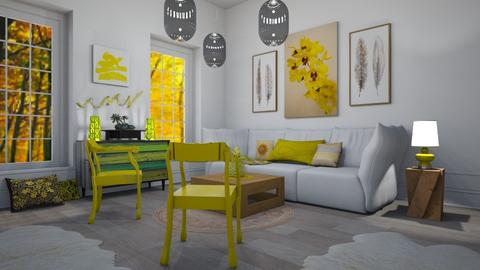 Yellow Chairs1 - Living room - by abbyt94