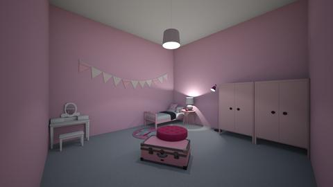PINK - Classic - Bedroom - by zary