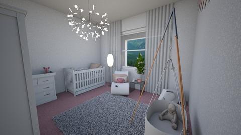 Pink Baby - Bathroom - by HeidiNel