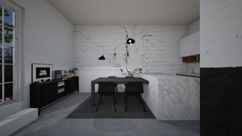 Casa331DiningArea - Modern - Dining room - by nickynunes