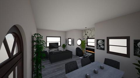 cozy - Living room - by pixxi