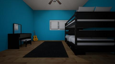 bedroom - Modern - Bedroom - by Stormie rain