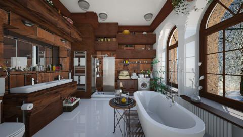 virtual - Eclectic - Bathroom - by Ida Dzanovic