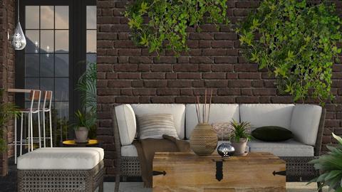 Earth - Rustic - Living room - by stephendesign