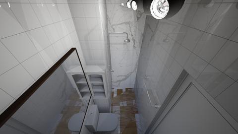 Sala Tijolinho Branca - Living room - by picroger