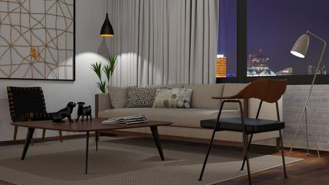 Simple Living - Living room - by GraceKathryn