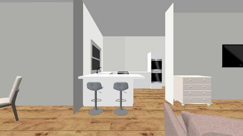 downstairs remodel 2 - Kitchen - by MK2017