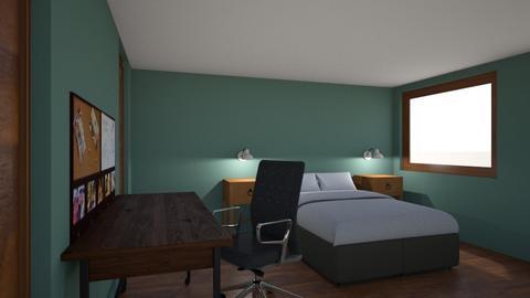 bedroom II - Bedroom - by melcampusano