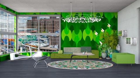 Urban jungle living room - Modern - Living room - by kitty