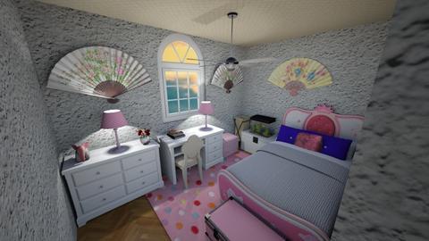 Pinkstone - Kids room - by scourgethekid