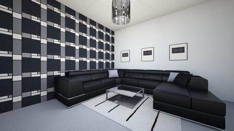 Geometric - Living room - by josielz
