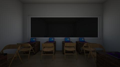 Computer Room - Office - by 24Cyar