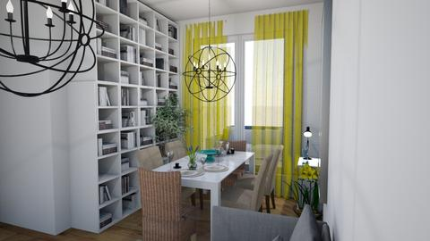 Yellow 2 - Eclectic - Living room - by elica676