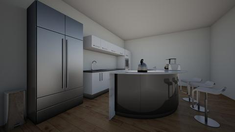 Radial Balance - Kitchen - by kennaDM