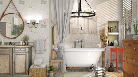Bohemian Bathroom  - Vintage - Bathroom - by Sally Simpson