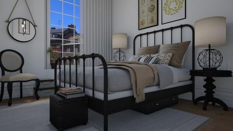 Scandi chic - Bedroom - by Tuija