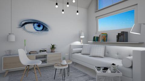 M_ Blue eye - Modern - Living room - by milyca8