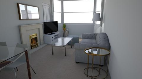 New Flat 3 - Living room - by davidbenpark