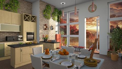 Wine Rose - Kitchen - by ZuzanaDesign